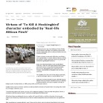 May 3 2014 - Virtues of 'To Kill A Mockingbird' character embodied by 'Real-life Atticus Finch' - The Eagle_ Local News-thumbnail